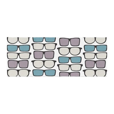 Michelle Drew Spectacles Geek Chic Bed Runner