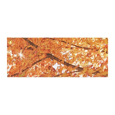 Sylvia Coomes Fall Folioge Bed Runner