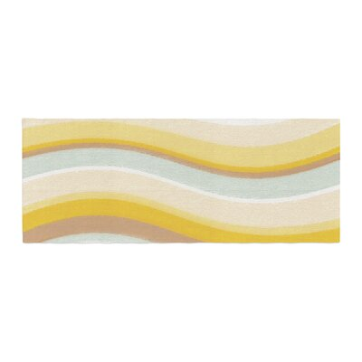 Nika Martinez Desert Waves Bed Runner
