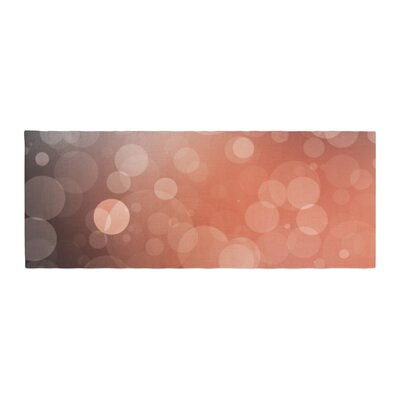 Sunset Bokeh Bed Runner