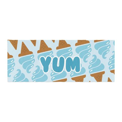 Yum! Ice Cream Bed Runner