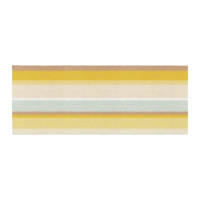 Nika Martinez Desert Stripes Bed Runner