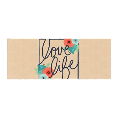 Noonday Design Love Life Digital Bed Runner