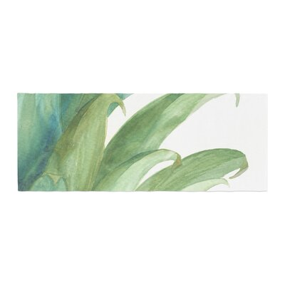 Viviana Gonzalez Botanical Vibes 03 Watercolor Bed Runner