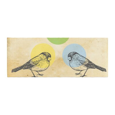Sreetama Ray Paper Birds Bed Runner
