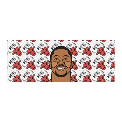 Will Wild Derrick Rose Basketball Bed Runner