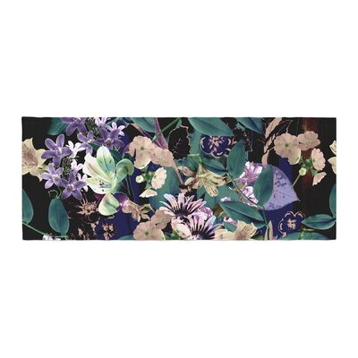 Victoria Krupp Midnight Garden Digital Bed Runner