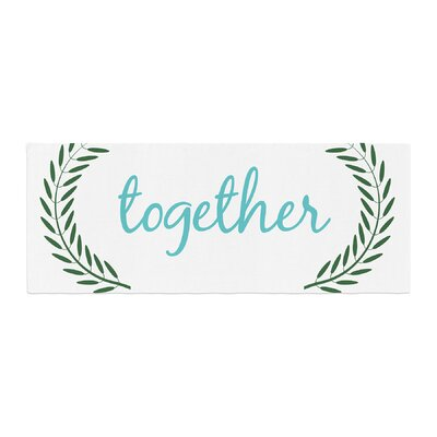 Together Couples Bed Runner