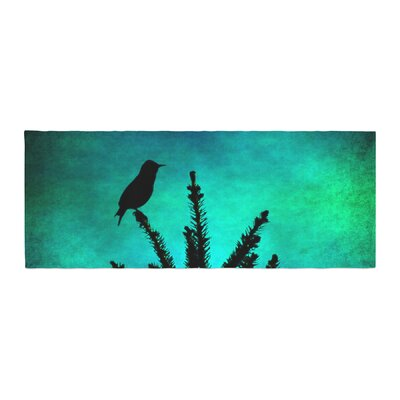 Sylvia Coomes Bird Silhouette Bed Runner