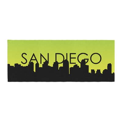 San Diego Bed Runner