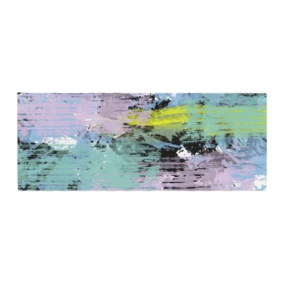 Vasare Nar Watercolor Texture Bed Runner