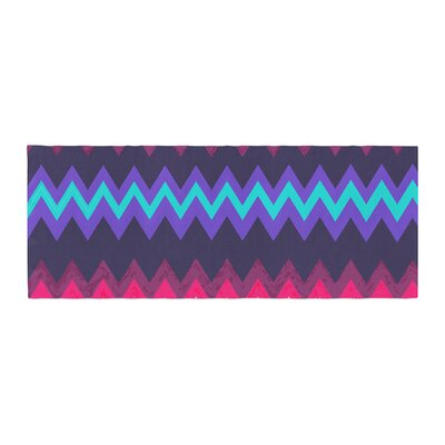 Nika Martinez Surf Chevron Bed Runner