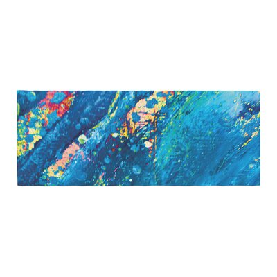 Theresa Giolzetti Big Wave Bed Runner