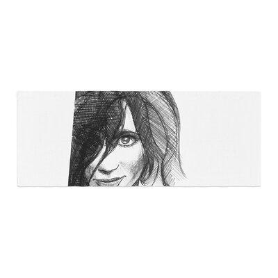 Maria Bazarova Self Portrait Bed Runner