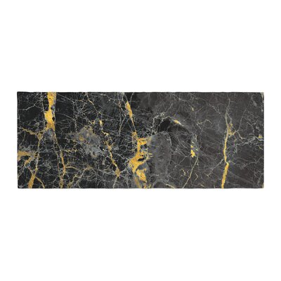 Fleck Marble Digital Abstract Bed Runner