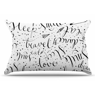 MaJoBV Life Must-Dos / Black Pillow Case
