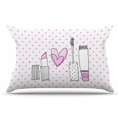 MaJoBV Girls Luv Makeup Pillow Case