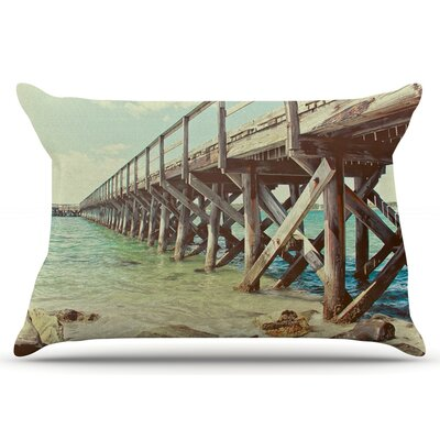 Debbra Obertanec On The Pier Beach Pillow Case