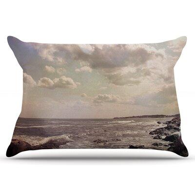 Debbra Obertanec Rocky Coast Sea View Pillow Case