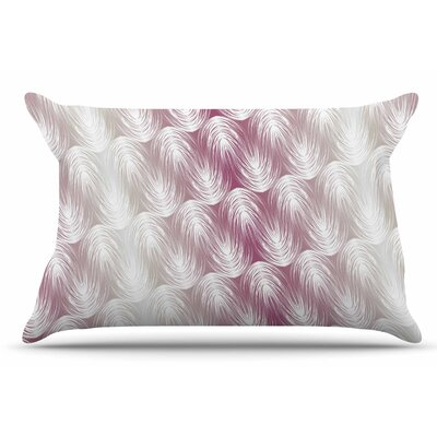 Gukuuki Stripe Palms Pillow Case