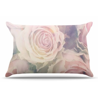 Suzanne Carter Faded Beauty Blush Floral Pillow Case