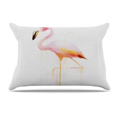 Geordanna Cordero-Fields My Flamingo Pillow Case