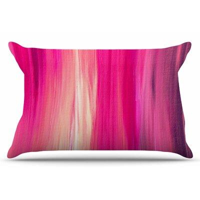 Ebi Emporium Irradiated 4 Pillow Case Color: Magenta/Pink