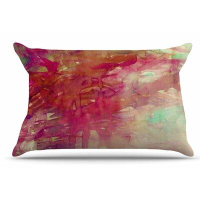 Ebi Emporium Carnival Dreams 4 Pillow Case Color: Red/Beige