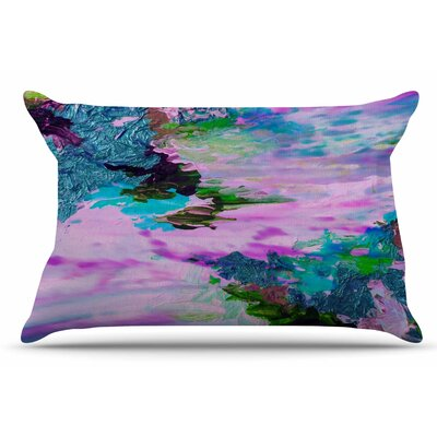 Ebi Emporium On Cloud Nine - 4 Pillow Case Color: Pink/Teal