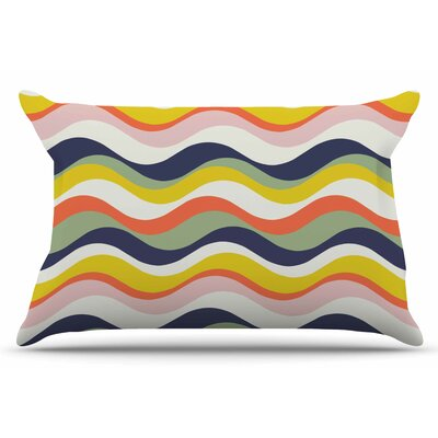 Gukuuki Stripes Stripe Pillow Case