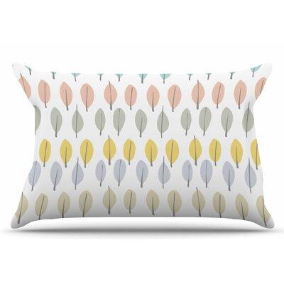 Gukuuki Simple Leaves Nature Pillow Case