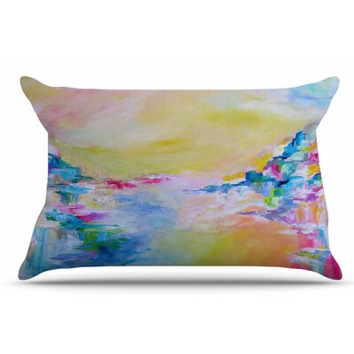 Ebi Emporium Something About The Sea 3 Pillow Case Color: Yellow
