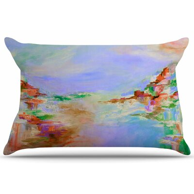 Ebi Emporium Something About The Sea 3 Pillow Case Color: Lavender