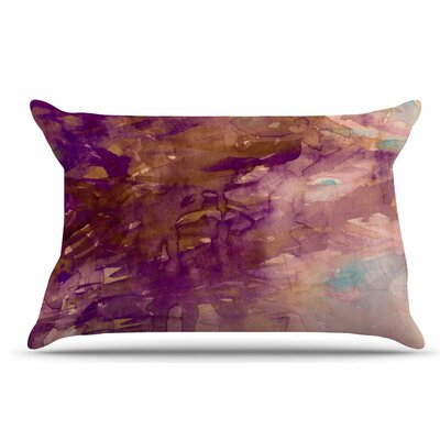 Ebi Emporium Carnival Dreams 4 Pillow Case Color: Purple/Brown