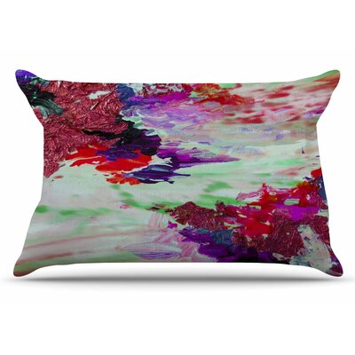 Ebi Emporium On Cloud Nine - 4 Pillow Case Color: Maroon/Purple