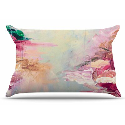 Ebi Emporium Winter Dreamland 3 Pillow Case Color: Blue/Maroon