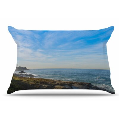 Nick Nareshni Sky Over The Ocean Coastal Pillow Case