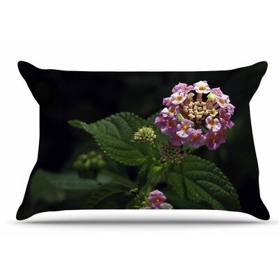 Nick Nareshni The Lantana Flower Pillow Case