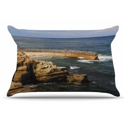 Nick Nareshni Ocean Jetty Pillow Case