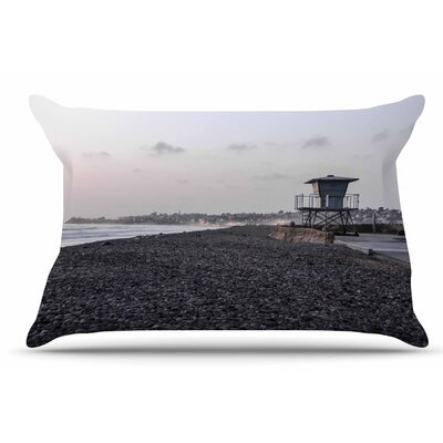 Nick Nareshni Lifeguard On The Rocks Pillow Case