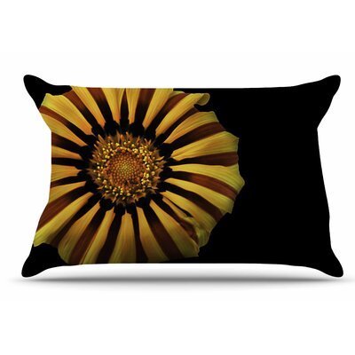 Nick Nareshni Red And Flower Floral Photography Pillow Case
