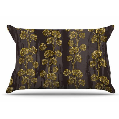 Neelam Kaur Textured Floral Elegance Pillow Case