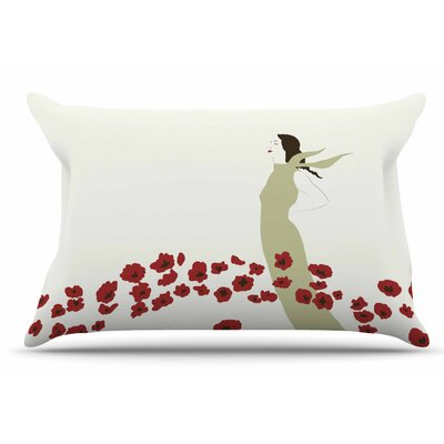 Mayacoa Studio Poppy Field Pillow Case