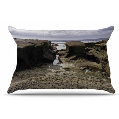 Nick Nareshni Stones Leading To Ocean Pillow Case