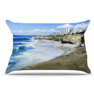 Nick Nareshni Beach Playground Pillow Case