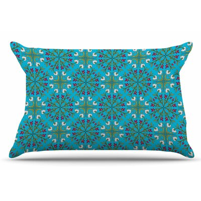 Mayacoa Studio Morrocan Tile Geometric Floral Pillow Case