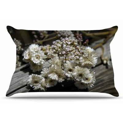 Nick Nareshni Rustic Flowers Pillow Case