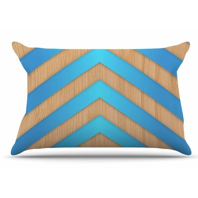 Marta Olga Klara Chevron Pillow Case