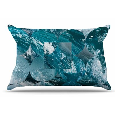 Matt Eklund Crashing Geometric Pillow Case