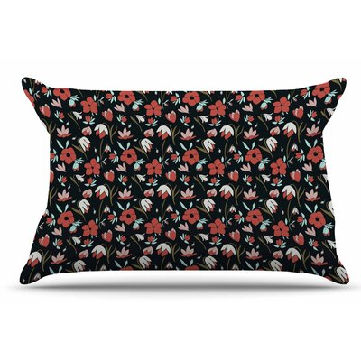 Mayacoa Studio 'Floral Field' Floral Pillow Case